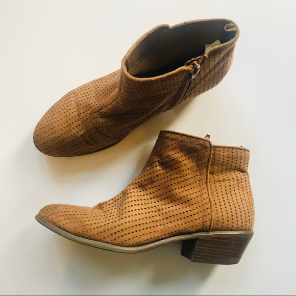 Old Navy Shoes - Old navy ladies ankle booties size 8 brown